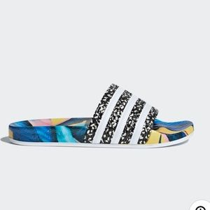 Adidas x FARM Originals Slides Sandals